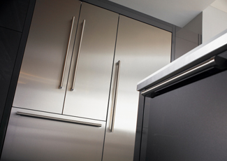 Pasadena, CA Stainless Steel Kitchen Cabinets