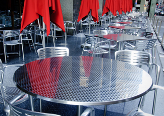 Stainless Steel Tables - Stainless Steel Dining Table Huntington Beach, CA