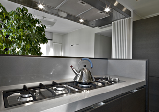 Los Angeles, CA Stainless Steel Kitchen Island
