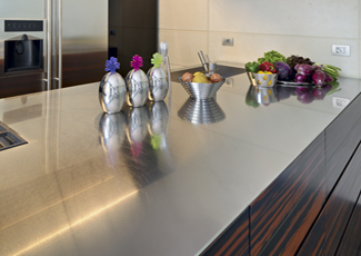 Santa Monica, CA Stainless Steel Kitchen Island